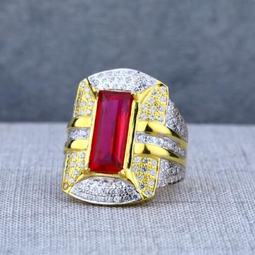 Exclusive Mens 22ct Solitaire Long Designer Ring-MSR65