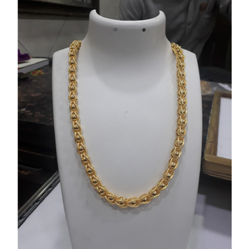 22KT Gold Yellow Gents Chain