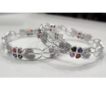 silver ladies bangles RH-LB663