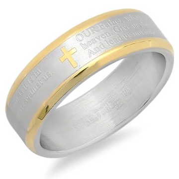 22kt, 916 Hm, White Gold ring with jewish writings all over JKR228