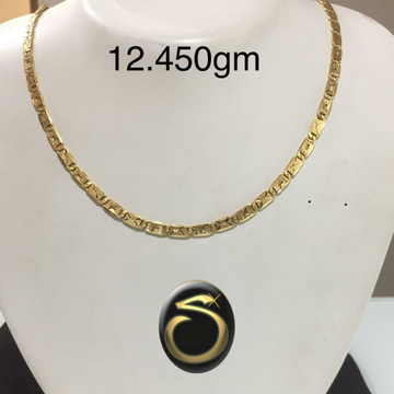 916 Gold fancy Hollow Chain SC-IZ9202