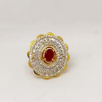 22 k Gold Fancy Ring. NJ-R0984