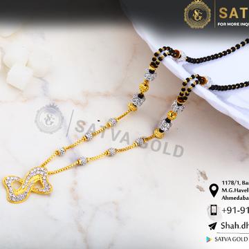 916 gold CZ Mangalsutra SGC-0037