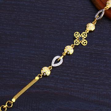 22Kt Gold ladies Classic Bracelet LB257