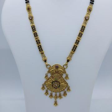 916 gold antique fancy mangalsutra tj-031