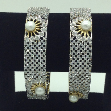 Pearls CZ Fancy Bangles JBG0311