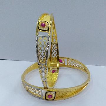 22KT/ 916 Gold fancy 2-in-1 Design Cooper Kadli fo... by