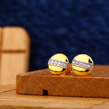 22kt Gold Designer Fancy Earring ME09