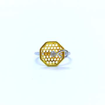 FANCY REAL DIAMOND RING by