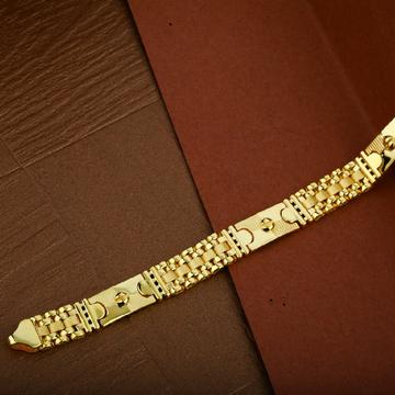 Mens 916 Cz Plain Gold Cartier Lucky-MCRB07
