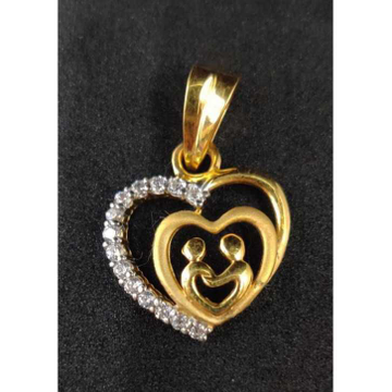 22k Genta Fancy Gold Pendant P-44542