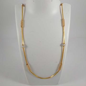 22k gold fancy pendant chain nj-p0107