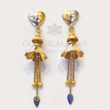 18kt gold earring gft153 by