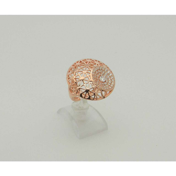92.5 Gold Finish Premium Ring Ms-4051 by