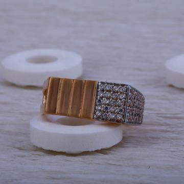 750 Rose Gold Cz Ring RMR24