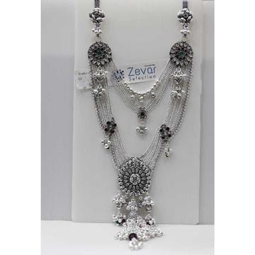 Silver Double Hook Oxodised Antique Juda
