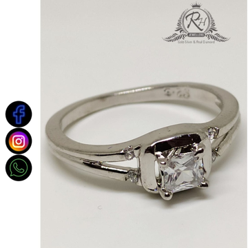 92.5 silver single stone rings RH-LR809