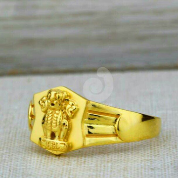 916 Ashoke Stambh Plain Gents Ring