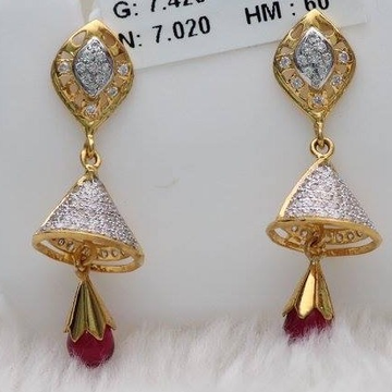 916 Gold diamond Zummer Butti ZB_0006