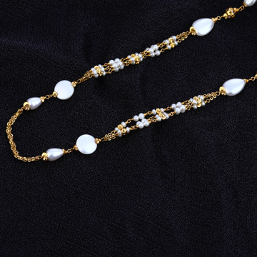White Moti Delicate Ladies Mala-AC126