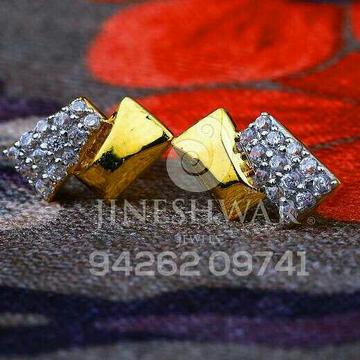 18kt Fancy Plain Cz Gold Work Were Ladies Tops ATG -0550