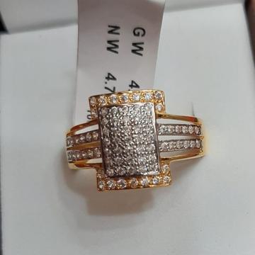 916 Gold Designer Gents Ring TBJ-R03 by
