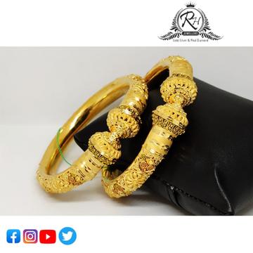 22 carat gold bangles  RH-LB422
