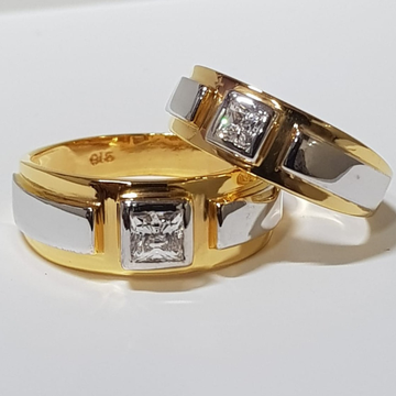 22 ct gold couple ring specially engegement by