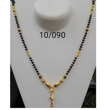 916 Gold Daliy Wear Dokiya Mangalsutra RH-MS13