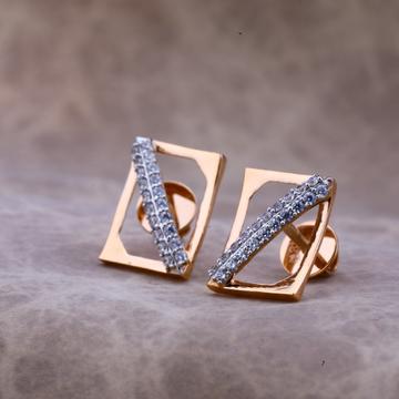 18kt Fancy Rose Gold Earring RE51
