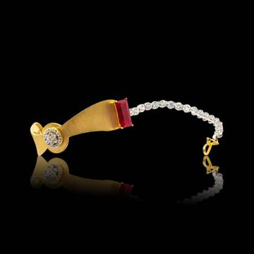 22KT Gold Hallmark Attractive Bracelet by S B ZAWERI