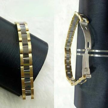 18k Gents Fancy Italian Bracelet G-10453