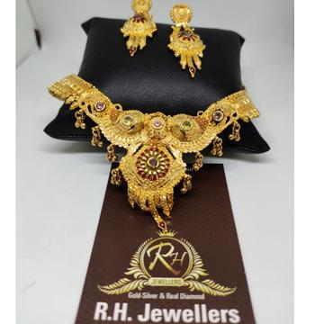 22 carat gold fancy bridal set RH-GS6023