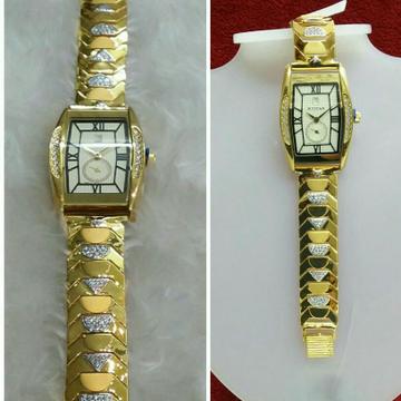 Gold Fancy Watch