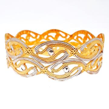 One gram gold forming designer bangles mga - bge03...