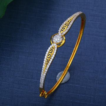 916 Hallmark Gold Daily Wear Simple Design Bracelet