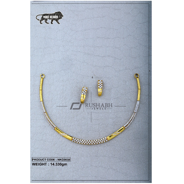 22 Carat 916 Gold Ladies necklace nkg0038