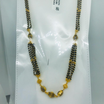 22k antique mangalsutra Necklace rbc adc83
