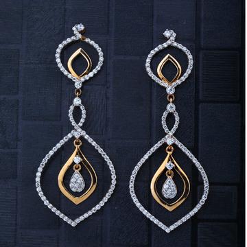 916 gold Light Weight Earring