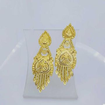 760 Gold Fancy Earrings RJ-B009