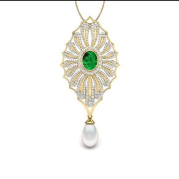 18k gold fancy pendant WC9343