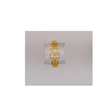 22K/916 Gold CZ fancy ring by