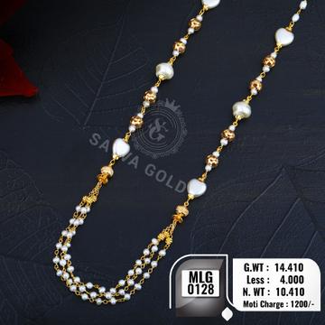916 gold mala MLG-0128