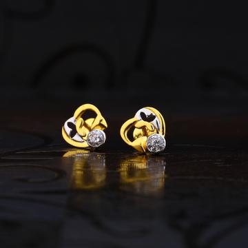 22kt Gold Designer Fancy Earring LSE188