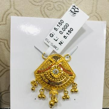 22 carat gold mangalsutra RH-MN778