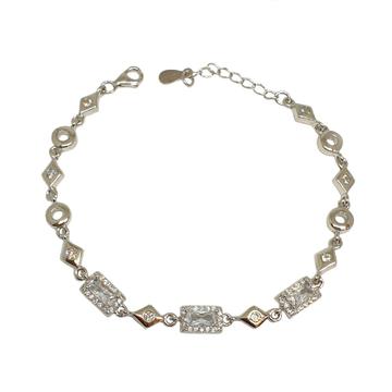 925 Sterling Silver Designer Bracelet MGA - BRS1757