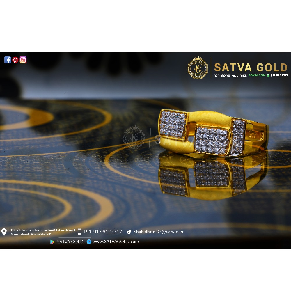 916 gold ring sgr-0039