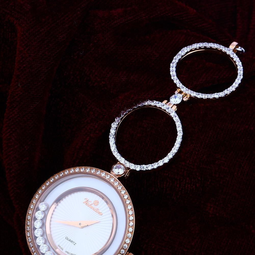18ct Rose Gold Designer Women's Hallmark Watch RLW138