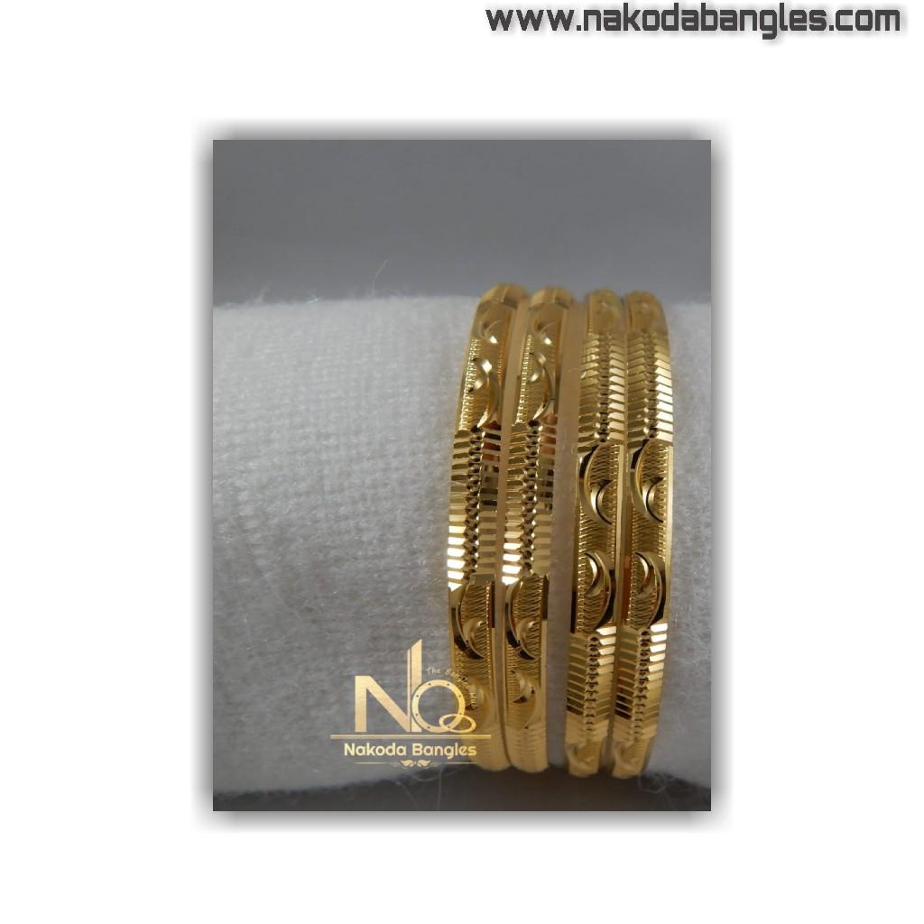 916 gold patra bangles nb - 1412
