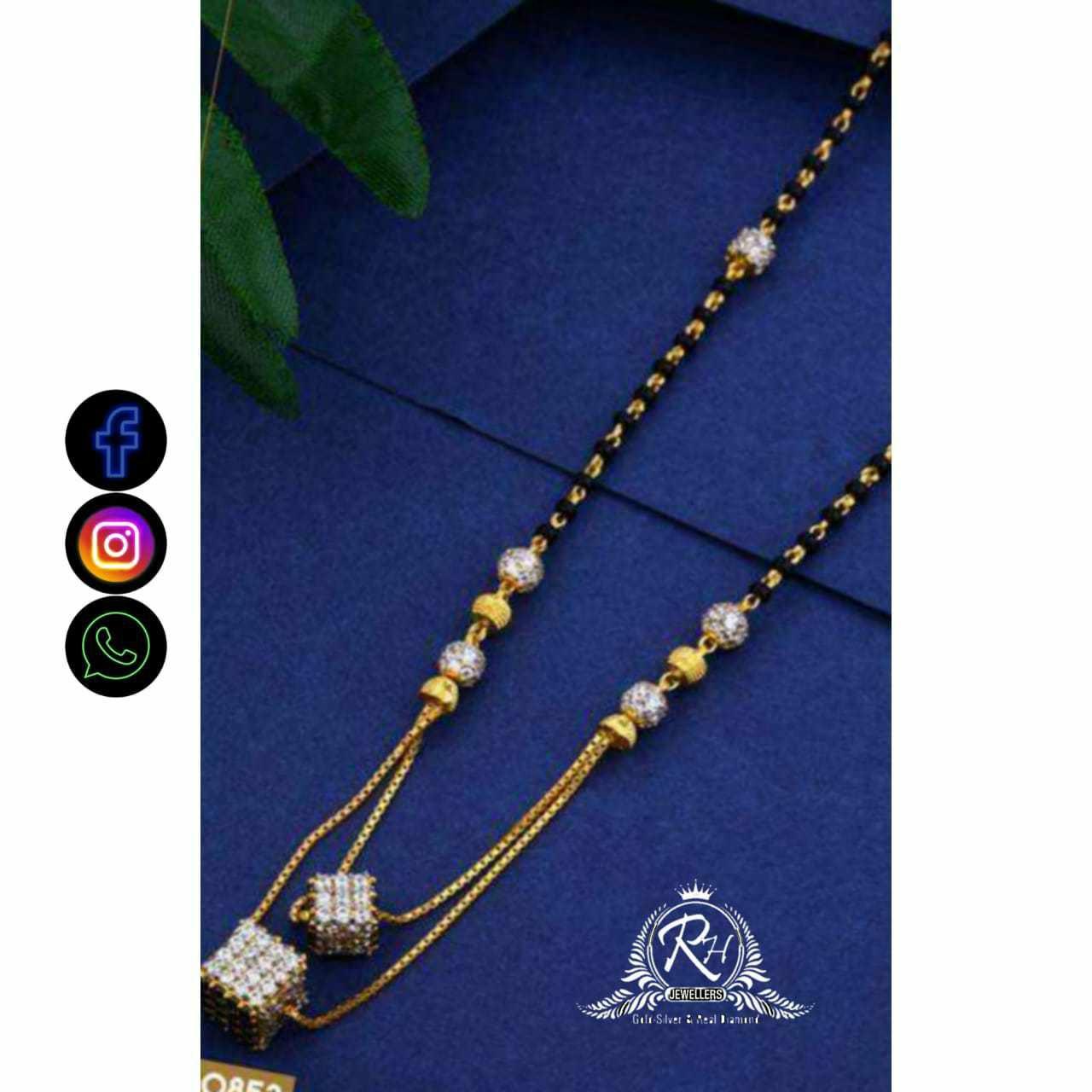 22 Carat Gold Classical Ladies Mangalsutra RH-LM722